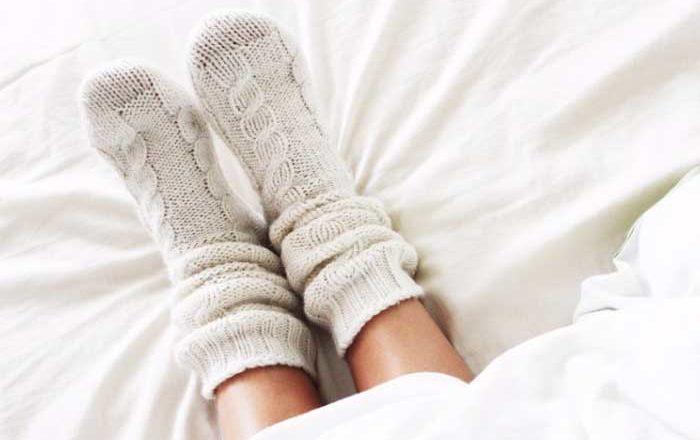 dormi cu sosete doftoria