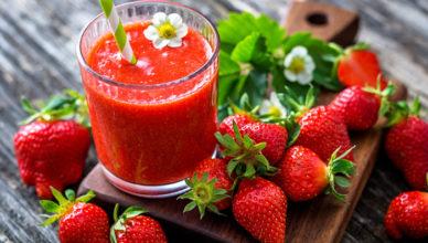 Suc de căpșuni doftoria