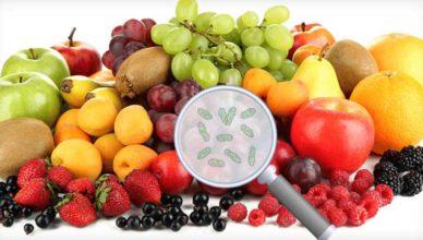 Fructe și legume cu pesticide