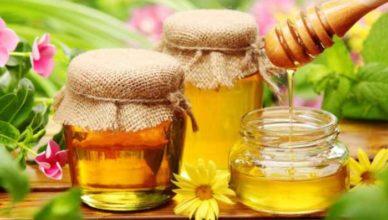 o linguriță de miere
