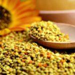 Cura cu polen uscat
