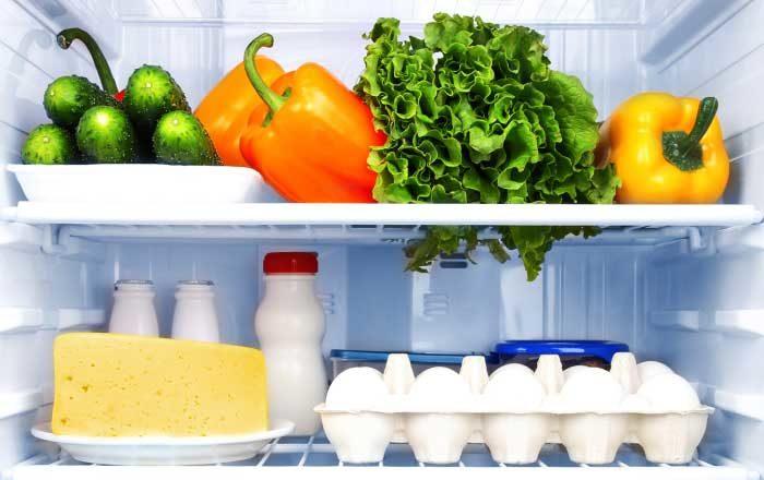 Mâncarea din frigider
