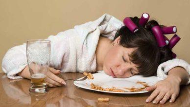 după ce mănânci