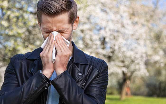 alergie la polen simptome tratament