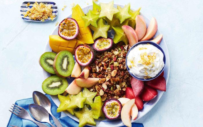 fructe dimineața