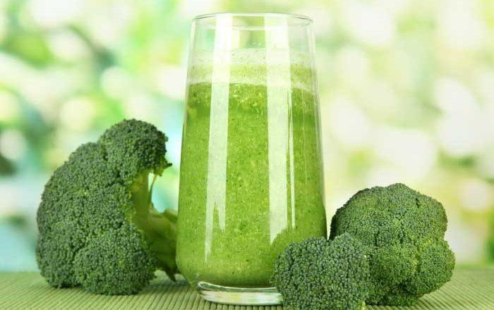 suc verde cu broccoli)
