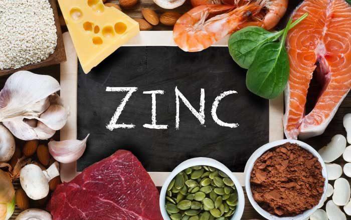 pierderea în greutate și deficitul de zinc)
