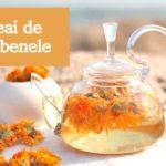 Ceai de gălbenele: beneficii și contraindicații