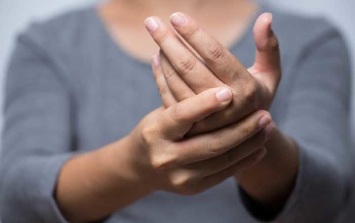 ceaiuri pentru amortirea degetelor glava humerusa